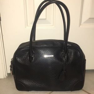 United color of Benetton, black purse +lock + key